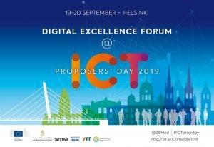 Digital Excellence Forum @ ICT Proposers' Day 2019 @ Messukeskus centre | Helsinki | Finland