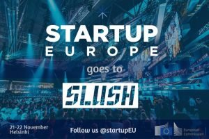 Startup Europe goes to SLUSH @ Helsinki Expo and Convention Center | Helsinki | Finland