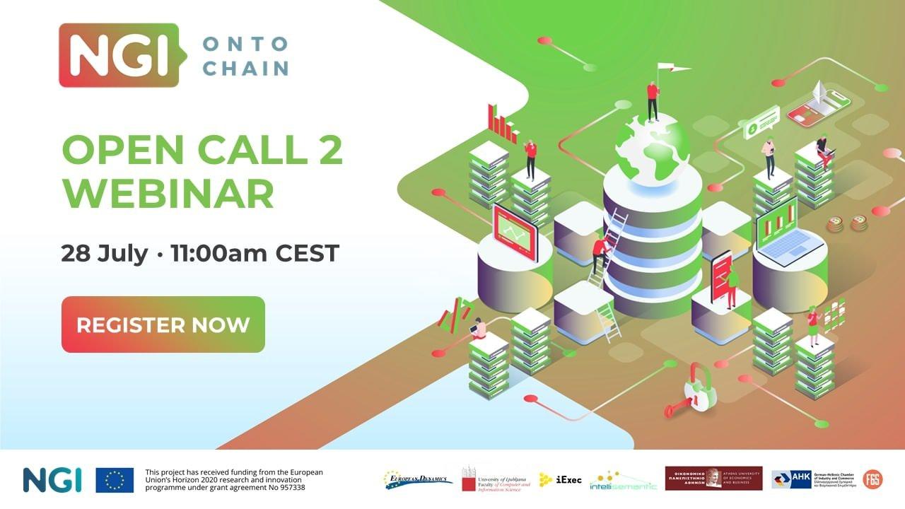 ONTOCHAIN - Second Open Call webinar