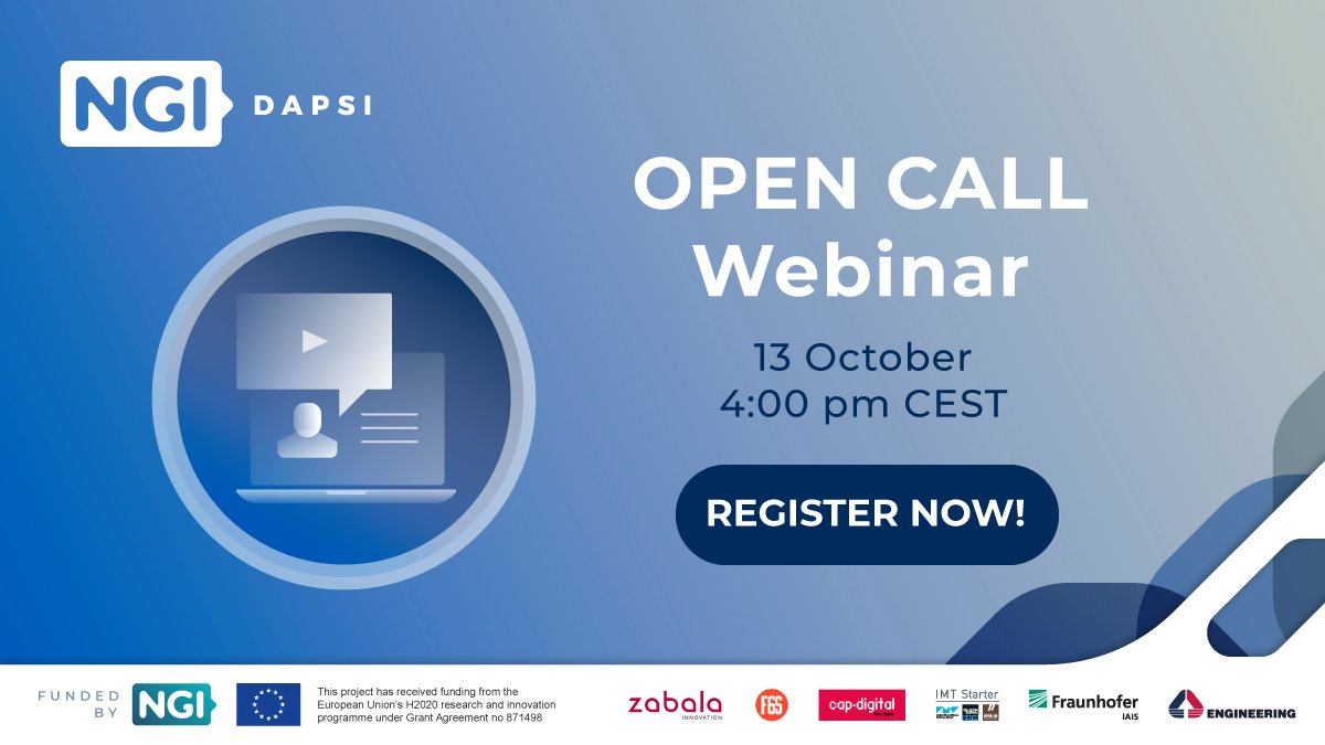 DAPSI Open Call 3 webinar