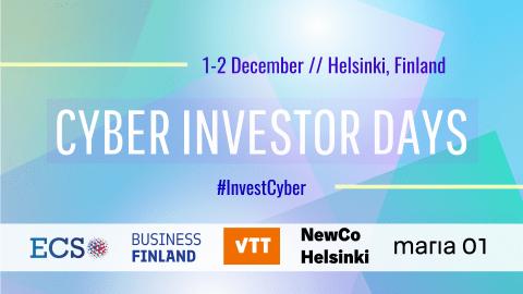 Cyber Investor Days